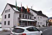Im Sennwalder Rathaus in Frümsen wird ab Juli 2020 das Gemeindepräsidium neu besetzt. (Bild: Heini Schwendener)