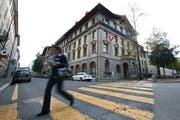 Die Stadt Luzern – im Bild das Stadthaus – kann sich erneut über einen guten Rechnungsabschluss freuen. (Bild: Boris Bürgisser, Luzern 14. Oktober 2014)