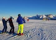 Mit der Aktion «Early Gamserrugg» war es den Wintersportlern möglich, bereits vor dem offiziellen Betriebsbeginn die Pisten zu befahren. (Bild: PD)