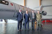 Der Pilatus PC-24-Jet wurde am Montag an den Bundesrat übergeben. (Bild: Pilatus Aircraft Ltd.)