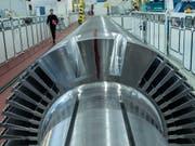Die Deutschen Maschinenbauer haben erneut einen Export-Rekord erzielt. (Bild: KEYSTONE/AP/JENS MEYER)