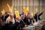Am 5. März stimmen die Parlamentarier über eine befristete Stelle in der Gossauer Stadtentwicklung ab. (Bild: Urs Bucher (12. Januar 2016))