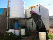 Syrischer Flüchtling in Jordanien. (Bild: KEYSTONE/AP/RAAD ADAYLEH)