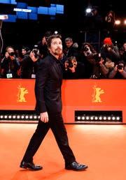 Christian Bale zeigt sich wieder schlank an der Berlinale Berlin. (Bild: Berlin, 11.Februar 2019, EPA/Alexander Becher)