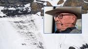 Art Furrer kritisiert die Verantwortlichen des Skigebiets und das Schnee- und Lawinenforschungsinstitut. (Bilder: Keystone, Alex Spichale, Montage: mwa)