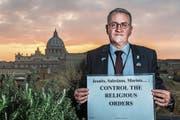 Matthias Katsch weilt schon seit Anfang Woche in Rom, um auf seine Anliegen aufmerksam zu machen. (Bild: S. Padovani/Getty (18. Februar 2019))