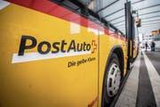 Die PostAuto-Verbindungen für Platz und Lachen haben sich mit dem Fahrplanwechsel verschlechtert. (Bild: Urs Bucher)