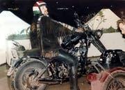 Coni auf seiner Senn Harley. (Bild: PD)