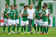 Für den FC St.Gallen war in der Qualifikation zur Europa League gegen Sarpsborg nichts zu holen. (Bild: Keystone)