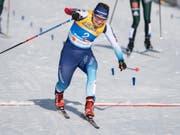 Trotz Einsatz bis zum letzten Meter im Halbfinal ausgeschieden: Nadine Fähndrich (Bild: KEYSTONE/PETER SCHNEIDER)