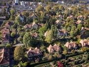 Die Familienheim-Genossenschaft am Zürcher Friesenberg. (Bild: KEY)