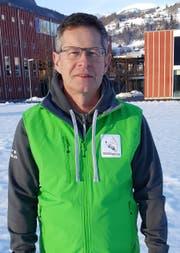 OK-Präsident Diego Forrer auf dem Wettkampfplatz bei der Schulanlage Unterdorf. (Bild: Hanspeter Thurnherr)