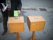 Grün zieht: Das Wahlbarometer sieht für die Grünen und die GLP Wahlerfolge im kommenden Herbst voraus. Verluste müsste die SVP hinnehmen. (Bild: KEYSTONE/GIAN EHRENZELLER)