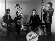 Der Bassist der Band «The Monkees», Peter Tork (zweiter von links), ist im Alter von 77 Jahren gestorben. (Bild: KEYSTONE/AP)