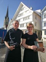 Albert Gmünder und Heidi Steiner sind in Rehetobel keine Unbekannten.