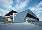 Die Zünd Systemtechnik AG in Altstätten benötigt mehr Platz, genauso wie die benachbarte Moser Recycling-Center AG. (Bild: PD)