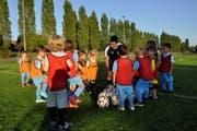250 Junioren trainieren aktuell bei der AS Calcio. (Bild: PD)