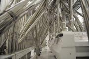 Die Weichweizenmühle der Meyerhans Mühlen AG am Hauptsitz in Weinfelden wird ausgebaut. (Bild: Nana Do Carmo)