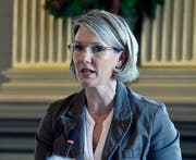 Neun Minuten hat SP-Kantonsrätin Andrea Schöb in der Februarsession gesprochen - so lange wie noch nie. (Bild: Regina Kühne)