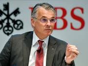 UBS-Chef Sergio Ermotti will die Investoren nach dem Urteil im Prozess in Paris beruhigen: Die Ausschüttungen an Aktionäre würden nicht angetastet. (Bild: KEYSTONE/WALTER BIERI)