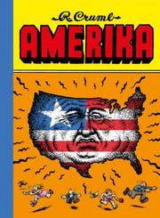Nur schon das Titelbild des neuen Werkes von Comic-Legende Robert Crumb ist gruselig. (Bild: PD)