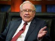 Mega-Abschreibungen belasten die Investmentholding des legendären Investors Warren Buffett. (Bild: KEYSTONE/AP/NATI HARNIK)