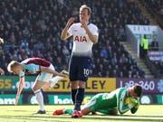 Harry Kane feierte sein Comeback mit einem Tor, verlor aber mit Tottenham in Burnley (Bild: KEYSTONE/AP PA/MARTIN RICKETT)