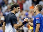 13 Duelle, 13 Siege: Roger Federer weist gegen Philipp Kohlschreiber eine makellose Bilanz aus (Bild: KEYSTONE/AP/KATHY WILLENS)