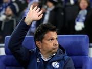 Schalkes Manager Christian Heidel zieht die Konsequenzen aus den schwachen Ergebnissen und tritt auf Ende Saison zurück (Bild: KEYSTONE/EPA/FRIEDEMANN VOGEL)