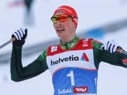 Neu siebenfacher Weltmeister: der Deutsche Kombinierer Eric Frenzel (Bild: KEYSTONE/EPA/SRDJAN SUKI)