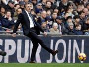 Ist seinen Trainerjob bei Leicester City los: Claude Puel (Bild: KEYSTONE/AP/MATT DUNHAM)