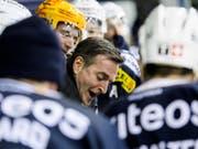 Serge Pelletier, der Trainer von La Chaux-de-Fonds, fand erneut die richtigen Worte (Bild: KEYSTONE/JEAN-CHRISTOPHE BOTT)