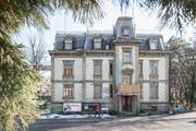 Die Villa Wiesental an der Rosenbergstrasse 95. Die alte und die neue Eigentümerin wollen den schützenswerten Bau sanieren und damit einen jahrelangen Streit endlich beenden. (Bild: Hanspeter Schiess - 19. Februar 2019)