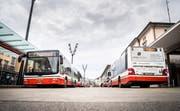 Vom Donnerstag, 28. Februar bis Sonntag, 2. März werden einige Haltestellen der Frauenfelder Stadtbusses nicht bedient. (Bild: Andrea Stalder)