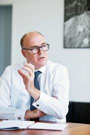 Auch die Zugerinnen und Zuger wollen im Alter immer länger zu Hause wohnen bleiben können, bestätigt der Zuger Regierungsrat Martin Pfister.