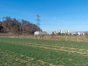 Für das Eidgenössische Schwing- und Älplerfest 2022 soll auf Landwirtschaftsgebiet bei Pratteln BL eine temporäre Arena mit 47'000 Plätzen entstehen. (Bild: KEYSTONE/GEORGIOS KEFALAS)
