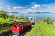 Schiff und Bahn verbinden den Bürgenstock mit Luzern. (Bild: PD)