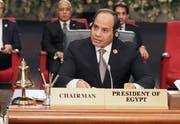 Der ägyptische Präsident Abdel Fattah al-Sisi. (Bild: Khaled Elfiqi /EPA, Sharm el-Sheikh. 25. Februar 2019)