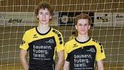 Timon Fröhlich (links) und Matteo Baumann führen die Tabelle beim U19-Nachwuchs an. (Bild: pd)