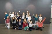 Die Kinder proben zurzeit mit viel Eifer und Freude für das Musical «D Chinderbrugg» im Theater Uri. (Bild: Thomas Gasser, Altdorf, Februar 2019)