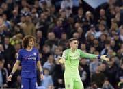 Der 24-jährige Kepa Arrizabalaga (rechts) ist mit 92 Millionen Franken Ablösesumme der teuerste Goalie der Welt. (Bild: AP)