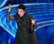 Olivia Colman wurde als beste Hauptdarsteller gewürdigt. (Bild: Chris Pizzello / Keystone)