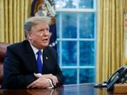 US-Präsident Donald Trump hat in der Nacht auf Montag im Handelsstreit mit China die am 1. März auslaufende Frist verlängert. (Bild: KEYSTONE/EPA/SHAWN THEW)