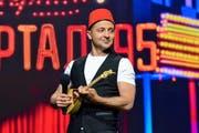 Wolodymyr Selenski während eines Auftritts in Kiew. (Bild: Alexander Gusev/Keystone; 26. Mai 2018)
