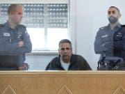 Der frühere Energieminister Gonen Segev muss wegen Spionage für Iran für elf Jahre ins Gefängnis. (Bild: Keystone/EPA/ABIR SULTAN)