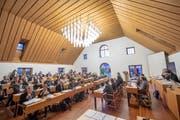 Das St.Galler Stadtparlament tagt heute Dienstag, ab 16 Uhr, im Waaghaus. Die Sitzung ist wie immer öffentlich. (Bild: Urs Bucher - 15. Januar 2019)