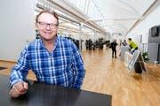 Peter Tindl im Update in Rorschach. Eines von gegen 40 Fitnesscentern, das er seit 2012 eröffnet hat. (Bild: Rudolf Hirtl)