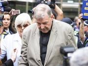 Wurde wegen Missbrauchs von Chorknaben in Australien für schuldig befunden: George Pell, die bisherige Nummer drei im Vatikan. (Bild: KEYSTONE/EPA AAP/DAVID CROSLING)