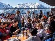 Die Schweiz ist derzeit als Winterferiendestination gefragt. (Bild: KEYSTONE/TI-PRESS/FRANCESCA AGOSTA)