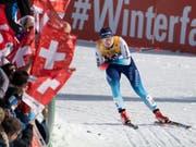 Machte den Schweizer Fans im 10-km-Lauf mit Einzelstart viel Freude: Nadine Fähndrich lief auf den tollen 5. Platz (Bild: KEYSTONE/PETER SCHNEIDER)